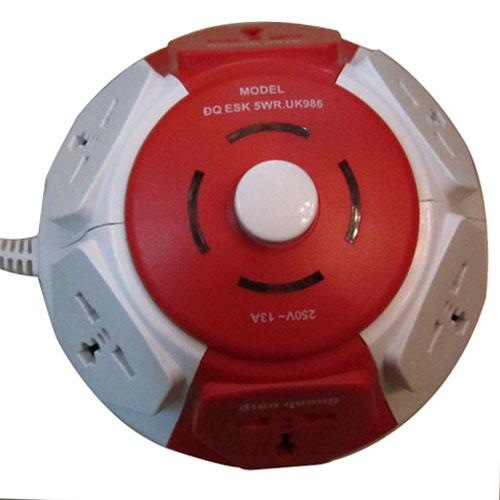 Vật tư điện|Ổ cắm, phích cắm|Ổ CẮM ĐIỆN QUANG ĐQ ESK.2B.106